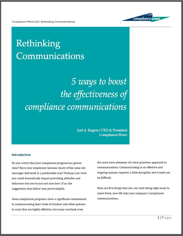 Rethinking Communications White Paper