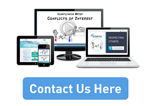 Contact Us Here button