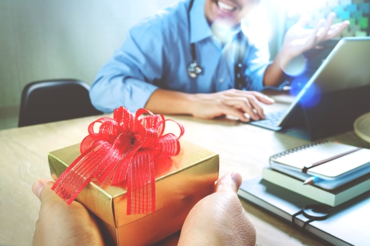 No to Physician Gifts