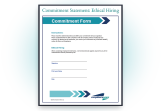 Commitment Statements
